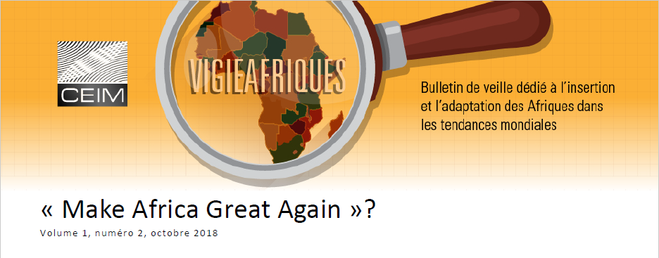 « Make Africa Great Again » ?