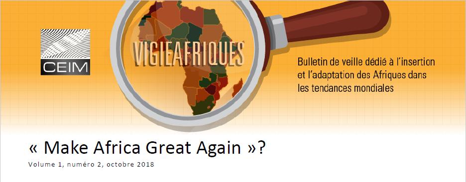 « Make Africa Great Again » ?