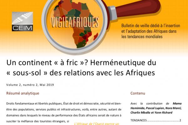 Un continent « à fric » ? Herméneutique du « sous-sol » des relations avec les Afriques